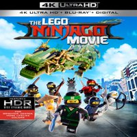 The Lego Ninjago Movie (4K Ultra HD + Blu-ray + Digital Copy)