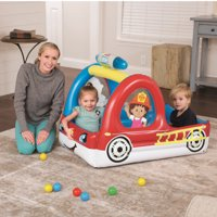 Fisher-Price Fire Truck Inflatable Ball Pit