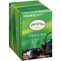 Twinings Of London Green Tea Keurig K-Cups, 18 count