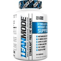 Evlution Nutrition Lean Mode Stimulant-Free Workout Supplement Garcinia Cambogia, CLA, and Green Tea Leaf extract, 30 Servings