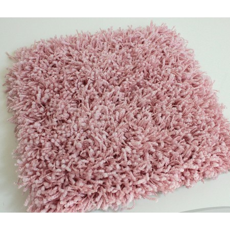 Uptown Girl Tickle Me Pink Indoor Shag Carpet Area Rug | 1″ Thick 63 oz Shag Soft Indoor Carpet Area Rug Many Sizes