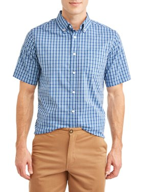 George Men's Short Sleeve Shirt, Up to 5XL