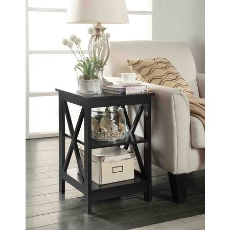 Convenience Concepts Oxford End Table, Multiple Colors](End Table Covers)