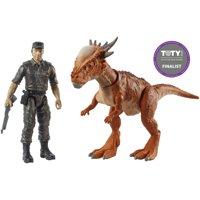 """Jurassic World Story Pack Stygimoloch """"Stiggy"""" & Mercenary"""