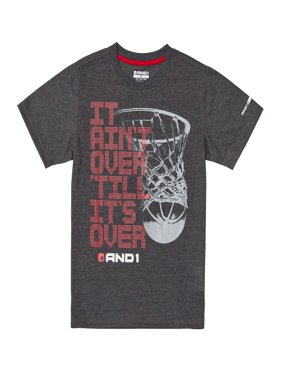 Graphic Tee It Ain't Over Basketball Athletic Shirt (Little Boys & Big Boys)