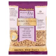 (12 Pack) Tinky Pasta Joy Ready Elbow Brown Rice Pasta, 16 oz