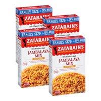 (4 Pack) Zatarain's Jambalaya Rice Dinner Mix, 12 oz