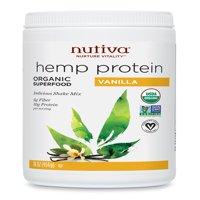 Nutiva Organic Hemp Protein Powder, Vanilla, 1.0 Lb, 15 Servings
