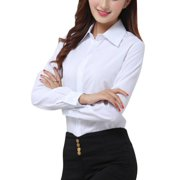 67bbbc80ef9 OUMY Women Casual Button Down Office Lady Shirt Blouse
