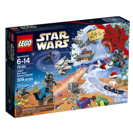 LEGO Star Wars 2017 Advent Calendar 75184 - Lego Halloween Special 2017