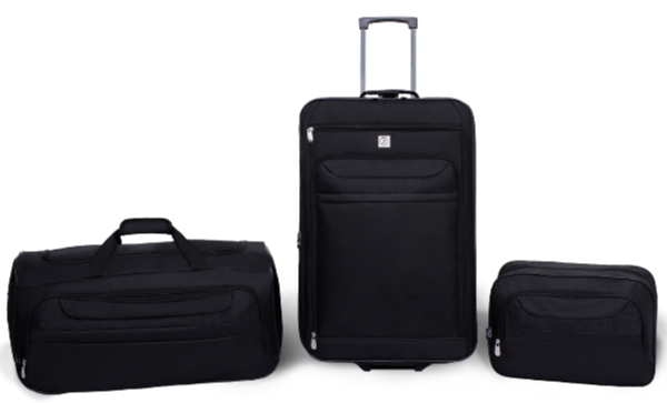 Protege 3 Piece Luggage Travel Set Atlantic Luggage Luggage Set