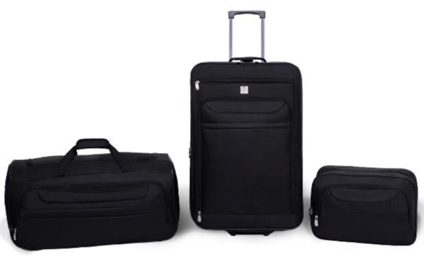 cecd6ecaf94 Protege - Protege 3 Piece Luggage Travel Set - Walmart.com