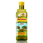 Partanna Organic Unfiltered Extra Virgin Olive Oil, 25.5 fl oz