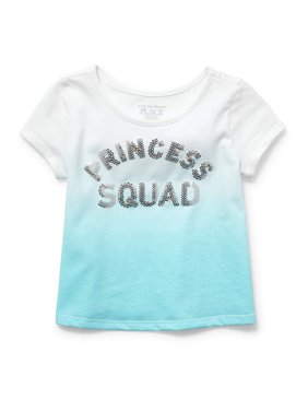 Children's Place Toddler Girls' Princess Squad Graphic T-shirt