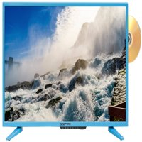 """Sceptre 32"""" Class HD (720P) Blue LED TV (E328LD-SR) with Built-in DVD Player"""