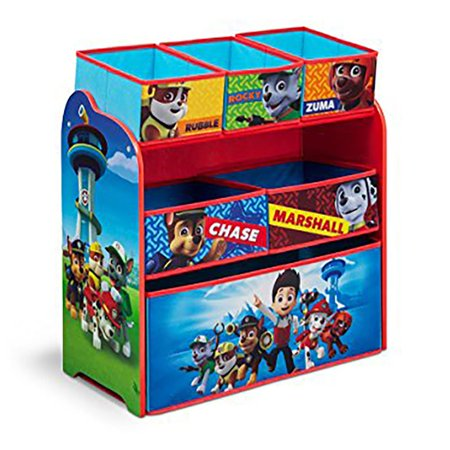 Nick Jr Paw Patrol Multi Bin Toy Organizer By Delta Children Walmart Com