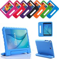 Galaxy Tab A 8.0 Kids Case by KIQ Child-Friendly Fun Kiddie Tablet Cover EVA Foam For Samsung Galaxy Tab A 8 inch T350 SM-T350 (2015 Release) (Blue)