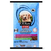 Ol' Roy Puppy Complete Dry Dog Food, 15 lb
