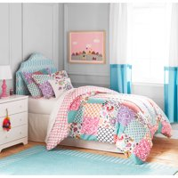 Better Homes and Gardens Kids BOHO Patchwork Bedding Comforter Set
