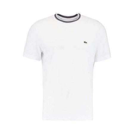 Lacoste Men Cotton Semi Fancy Crew Neck Regular Jersey T-Shirt