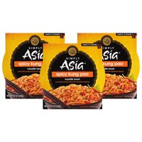 (3 Pack) Simply Asia Spicy Kung Pao Noodle Bowl, 8.5 oz