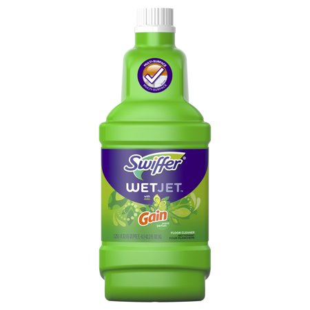 Swiffer Wetjet Multi Purpose And Hardwood Liquid Floor
