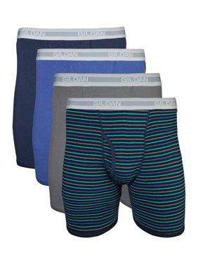 Gildan Big Men's 2XL Assorted Boxer Brief, 4-Pack