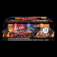 ALPO Chop House T-Bone Steak & Rotisserie Chicken Flavor Adult Wet Dog Food Variety Pack - (12) 13 oz. Cans