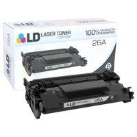 LD © Compatible Replacement for HP 26A / CF226A Black Laser Toner Cartridge for LaserJet Pro Printers: M402dn, M402dw, M402n, MFP M426fdn, MFP M426fdw