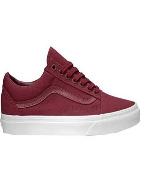 Van VN-0A38GIQDD: Old Skool (Mono Canvas) Cabernet Mens Sneakers