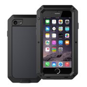 Waterproof Shockproof Aluminum Glass Metal Protect Case Cover for Apple iPhone 6 Plus / 6s Plus