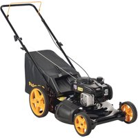 """Poulan Pro 21"""" 140cc Gas 3-in-1 Lawn Mower with High-Rear Wheels"""