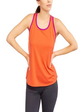 Women's Mesh Tank with Contrast Trim