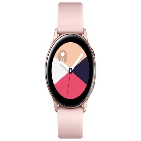SAMSUNG Galaxy Watch Active - Bluetooth Smart Watch (40mm) Rose Gold - (Best Samsung Computer Watches)