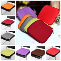 Multi-colors Soft Comfort Sit Mat Indoor Outdoor Chair Seat Pads Cushion Pads For Garden Patio Home Kitchen Office Park 37x37x1.5cm