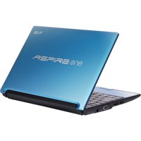 "Acer Aspire One Aquamarine 10.1"" AOD255-2136 Netbook PC with Intel Atom Processor N450 and Windows 7 Starter"