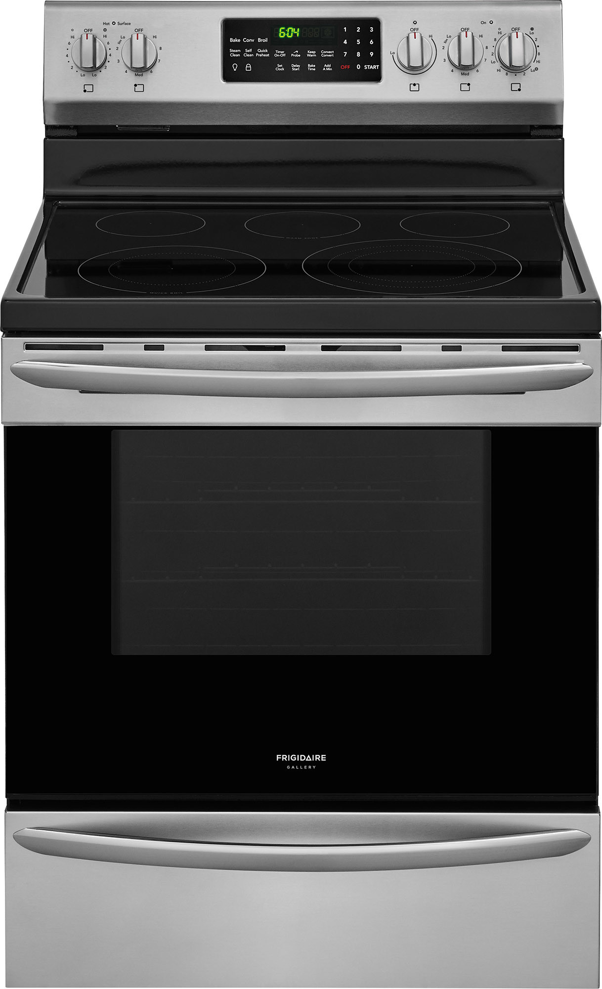 Frigidaire FGEF3059T, Glass Cooktop, Stainless Steel