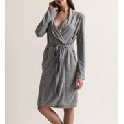 Women s Skin T8008V French Terry Cotton Robe af8c2066d