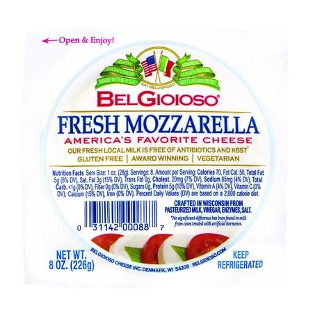 BelGioioso Fresh Mozzarella Cheese Ball, 8 Ounces