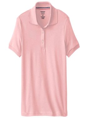 French Toast Girls 2T-4T Short Sleeve Interlock Polo