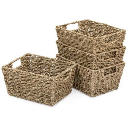 Best Choice Products Seagrass Multipurpose Stackable Storage ...