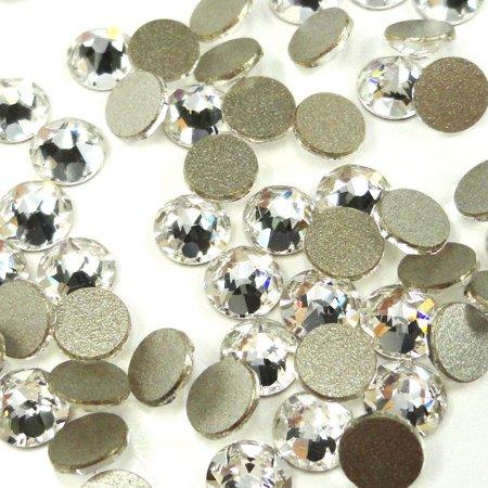 Swarovski 144 pieces Crystal (001) NEW 2088 Xirius ss16 round Flat backs Rhinestones 4mm 1 gross