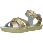 fe045a7b6 Salt Water Sandals by Hoy Shoe Sun-San Swimmer - Gold - Little Kid 1