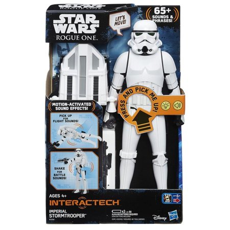 Star Wars Interactech Imperial Stormtrooper Figure (Full Stormtrooper Armor)