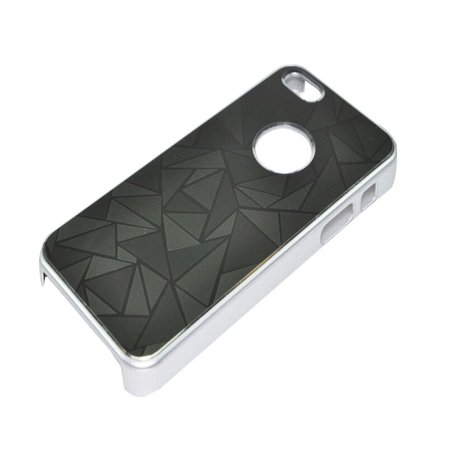AMC Apple Accessory Zebra Stripes/Scale/Plaid Back Case Cover for iPhone 5/5s
