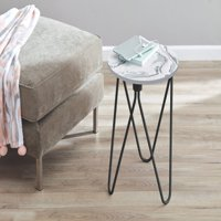 Mainstays Accent Table, Marble