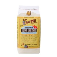(3 Pack) Bobs Red Mill Whole Grain Brown Rice Flour, 24 Oz