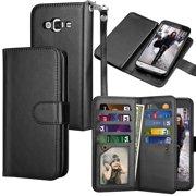 ... Holder Flip Cover [Detachable Magnetic Hard Case] -Black. Product Image. Galaxy Sky / Sol Case, Galaxy J3 / J3 V Wallet Case, Samsung Amp