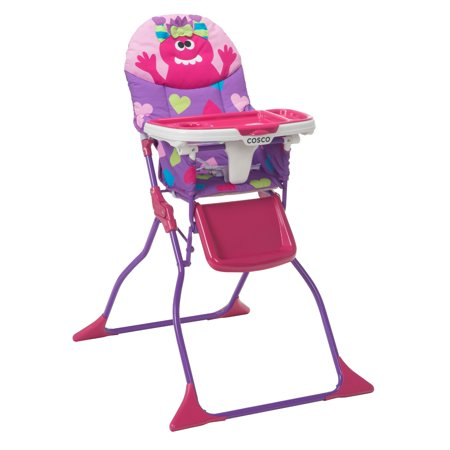 Cosco Simple Fold™ Deluxe High Chair, Monster (Cosco Flat Fold High Chair Fruity Jungle)