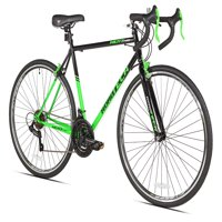 Kent 700c Men's, RoadTech Road Bike, Black/Green